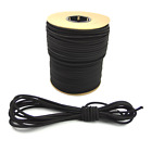"5/16"" Black Bungee Cord Marine Grade Heavy Duty Shock Rope Tie Down Stretch Band"