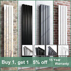Designer Flat Panel Radiator Tall Upright Central Heating Anthracite White