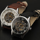 Luxury Watches Sewor Business Men Automatic White Dial Leather Strap Watch ss2