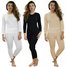Womens Thermal Underwear Top Long Sleeve Tshirt Vest Legging Bottom Winter Warm