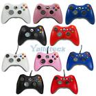WIRED OR WIRELESS CONTROLLER GAMEPAD JOYSTICK FOR MICROSOFT XBOX 360