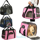 Pet Carrier Soft Sided Large Cat / Dog Comfort Travel Bag Airline Approved USA