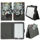 Case For LG G Pad 7.0 Syn Leather Slim Fit Folio Auto Wake / Sleep Cover