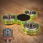 Acrylic EDC Spinner Tri Bar Fidget Toy with Caps