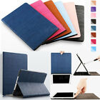 Luxury Wood Grain PU Leather Smart Stand Case Cover For iPad Mini/ iPad Air/ Pro
