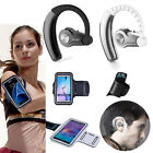 YUER Bluetooth Headset + Sport Armband Case for Samsung Galaxy S7 edge S6 J7 A8