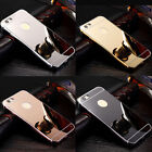 Luxury Aluminium Mirror Case i Phone Cover for iPhone Apple 6+ 6s 5c 5 SE 7 8 X