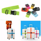 Adjustable Travel Luggage Suitcase Straps Buckle Baggage Tie Down Belt Lock Fast