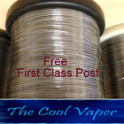 Kanthal A1 Wire  22 to 34 AWG gauge (0.16mm-0.64mm), 2, 5, 10, 25 & 50 mtrs.