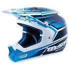 NEW MSR RACING MAV-3 SF NAVY CYAN MX MOTOCROSS RACING RACE HELMET MENS ADULT