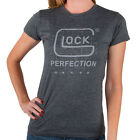 Ladies Glock Perfection Soft T-Shirt in Gray 5061Tops - 53159