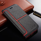 Magnetic Flip Stand Cover Wallet Leather Case For Apple iPhone X 6s 7 5s 8 Plus