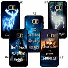 Harry Potter Blue Light Stag Always Don not Touch My Phone quotes Samsung case