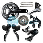 New 2017 Shimano Dura Ace R9100 Full Groupset Group set 11-25/28T 50/34 53/39