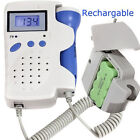 ANGELSOUNDS JPD-100B FETAL DOPPLER 3MHZ W BATTERY,  CHARGER,  GEL NEW APPROVED FDA