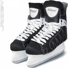 Ice Hockey Skates Skating Shoes Boots Blade Guards Sharpened Adult Men Black