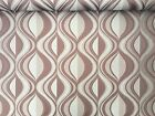 Brown/Beige Aztec Abstract Art Heavy Designer Upholstery Curtain Cushions Fabric