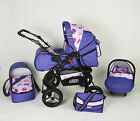 Kinderwagen VIP  + Buggy + Babyschale  + Limited Edition