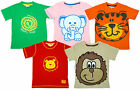 Girls Animal Boys Lion Snake Monkey T-Shirt Top 2 - 6 Years CLEARANCE SALE