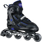 MONGOOSE KIDS' LIGHT-UP LED ADJUSTABLE ROLLER SKATES