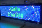 LED SCROLLING PROGRAMMABLE SIGN DISPLAY - BEST QUALITY + FREE KIT