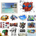The Avengers Star Wars Scenery 3D Wall Stickers Nursery Decor Mural Art Decal $4.15 AUD