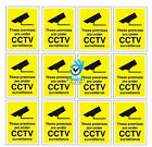 CCTV In Operation Warning Stickers Safety Security Camera Adhesive Signs PACK