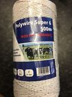 FENCEMAN ELECTRIC FENCE POLY WIRE 6 STRAND - HIGH QUALITY - 250m OR 500m