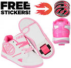 New Heelys Propel 2.0 Girls Wheelie Trainers Hot Pink White Roller Skates