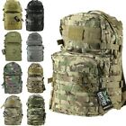 ARMY 40 LITRE RUCKSACK 10 COLOURS MOLLE TACTICAL DAYSACK BAG MILITARY CADET