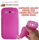 COVER CUSTODIA CASE GOMMA GEL SILICONE per SAMSUNG GALAXY GRAND DUOS I9082