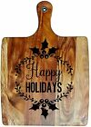 Engraved Painted & Bread/Chopping Board - Christmas Gift 70