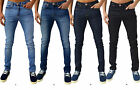 Mens Designer Zico Jeans Super Stretch Skinny Slim Fit Fashion Retro Indie Denim