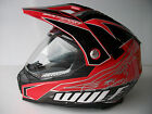 Wulfsport Prima-X Sun Visor Enduro Motocross All Sizes helmet Cr Crf Xr Fmx Ec