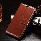 Luxury Leather Magnetic Flip Card Wallet Cover Case For Vari