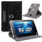 360 Rotate Folio Leather Case For Tablet PC Android  Adjustable  Stand Cover US