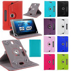 "Universal Folio Leather Flip Case Cover For Android Tablet PC 7"" 8"" 9"" 10"" IN US"