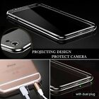 Slim Transparent PC Hard soft case back Cover for iphone 5/6/7/S/+ FREE DELIVERY