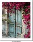 Old Wooden Door With Art Print/Canvas Home Decor Wall Art Poster - C