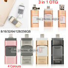 64 128G USB i Flash Drive OTG Device Memory Stick For iPhone IOS iPad Android