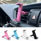 Black Universal Car Air Vent Mount Holder Cradle Stand Bracket For Cell Phone