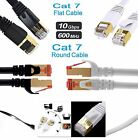 RJ45 Ethernet Network Cable Cat7 Lead 10Gbps 600Mhz LAN UTP Patch Gold plated