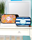 Personalized Cosmetic Bags Various Designs Organizer Toiletry Zip Top Pouch Case