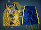 Despicable Me Outfit Toddler Boys 2pc Short Set Size 4T Minion OOPS! NWT