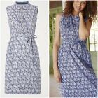 NEW WHITE STUFF BLUE PRINT SKETCH BOOK DRESS 6 to 18 RRP £55