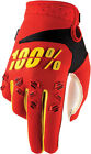 100% Airmatic Gloves (Pair) Red Adult All Sizes