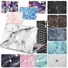 "fashion Marble Hard Case Keyboard cover For Macbook Air 11"" Pro 13""15"" TOUCH BAR"