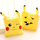 plush toy cute cartoon Pokemon Pikachu cushion blanket quilt birthday gift 1pc