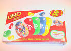 UNO Jelly Belly Special Edition Card Game with real Jelly Beans also (past date)