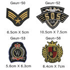 Embroidered Patchs Sew On Badge Bag Fancy Dress Applique DIY Geun-8